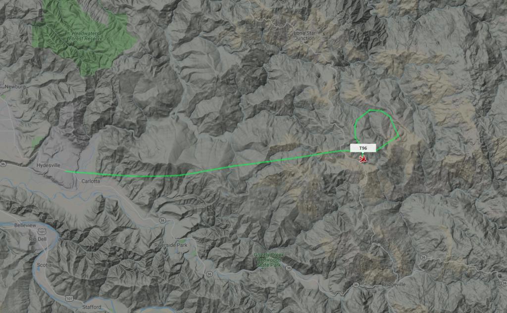 [Screengrab from Flight Tracker]