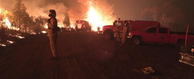 Weaverville fire