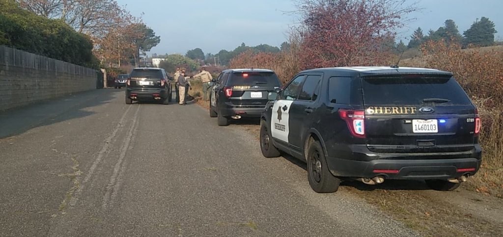 Multiple law enforcement agencies responded to Eel River Drive.