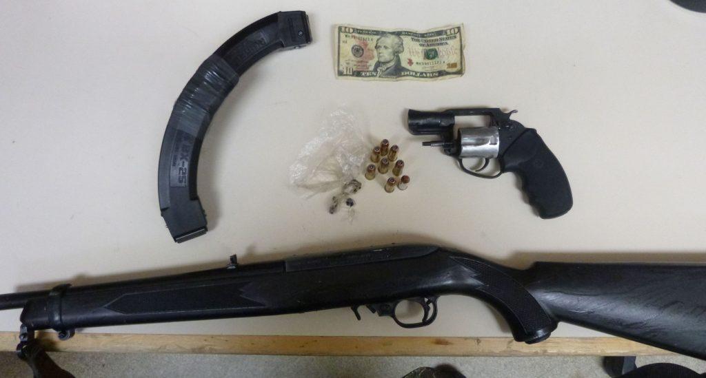 Firearms counterfeit money