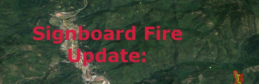 Signboard Fire update