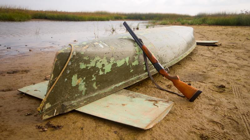 Canoe firearm