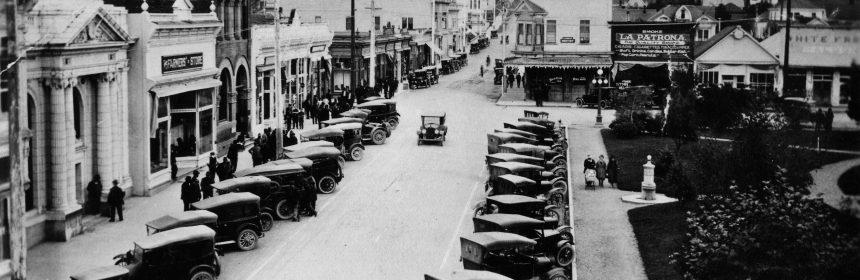 arcata plaza 1918