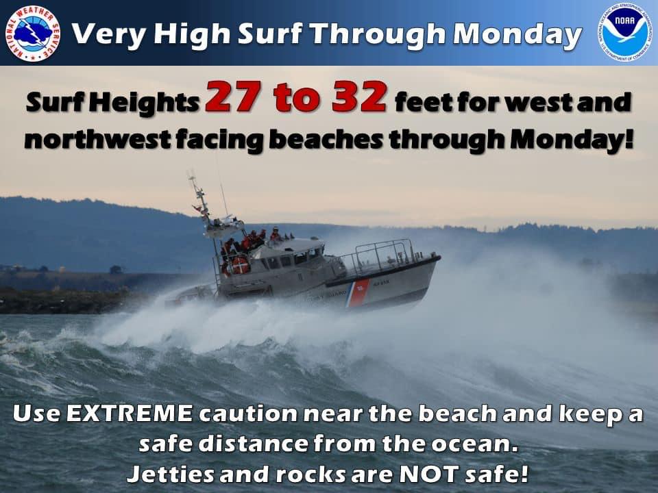 High surf graphic