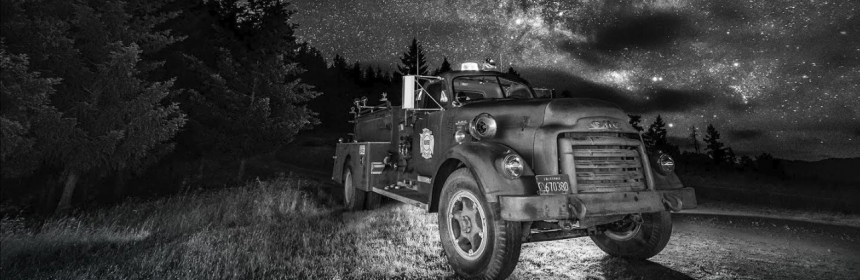 old fire truck stars By David wilson