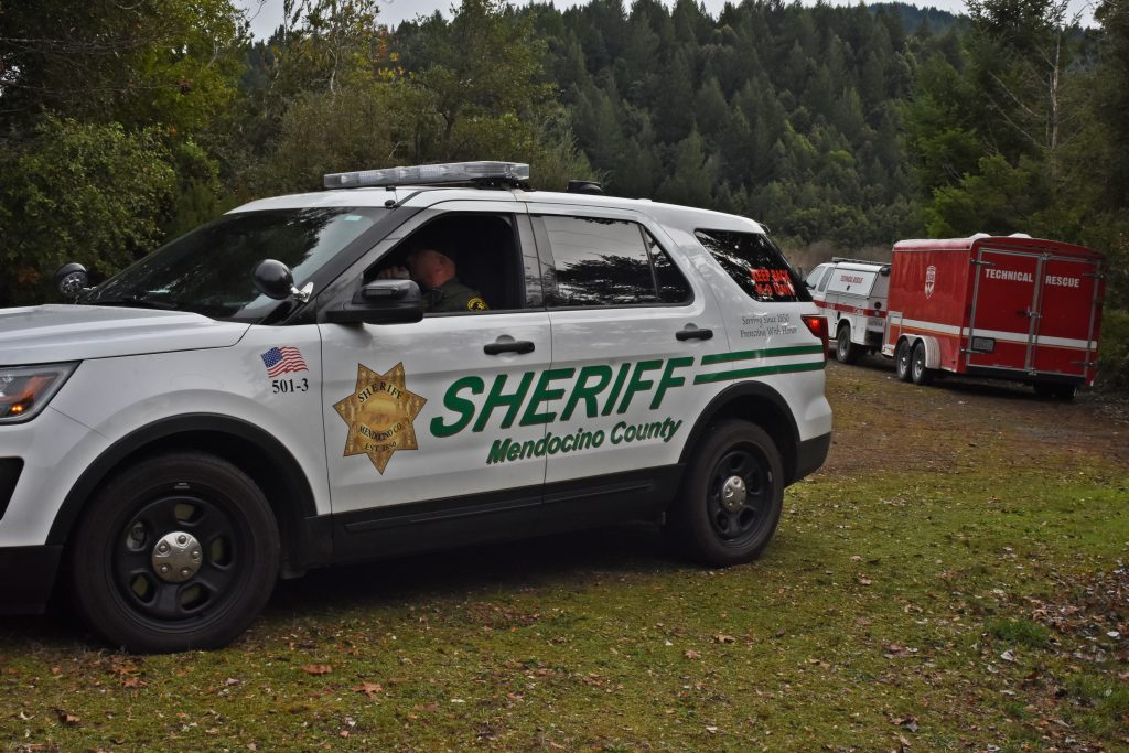 The Mendocino County Sheriff's deputy was amazed that they did all this as volunteers,