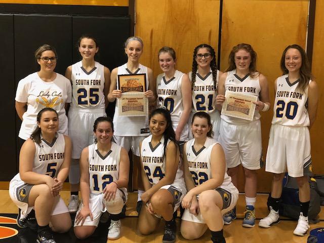 South Fork High School Girls team 2018.