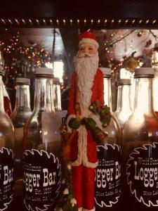 Santa at the Logger Bar