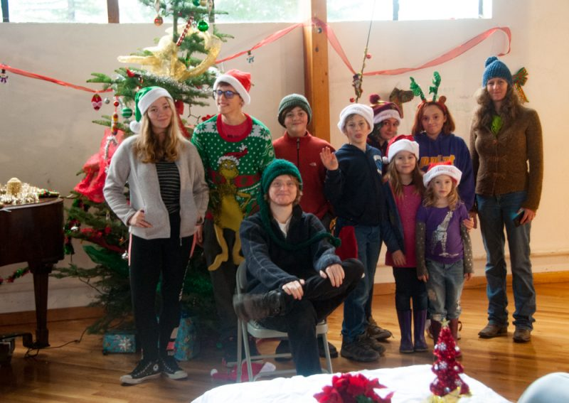 Miranda 4-H gathered to spread Christmas cheer in Southern Humboldt.