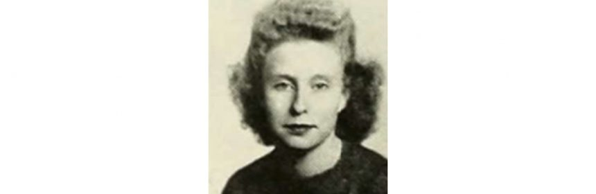 Rowena Brown (1946 high school photo)