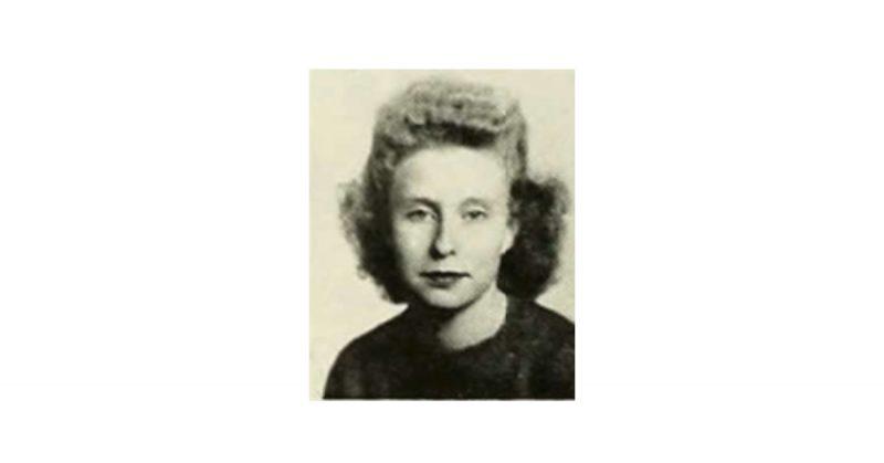 Rowena Brown (1946 high school photo)