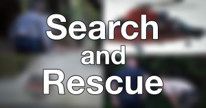 Search and rescue feature and icon