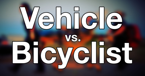 Vehicle vs Bicyclist feature icon