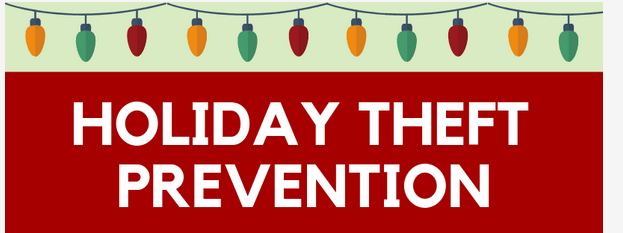 holiday theft prevention