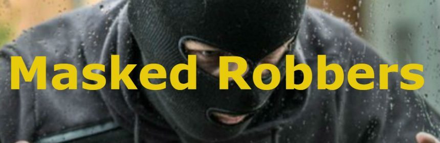masked robbers feature icon