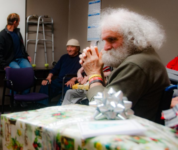 The youth hoped they spread a little Christmas cheer.