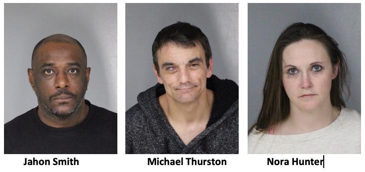 Jahon Smith, Michael Thruston, Nora Hunter