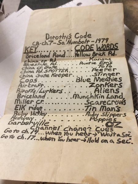 marijuana code from 1979