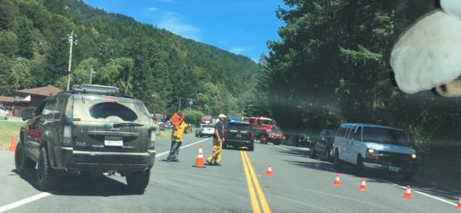 Motorcyclist Reported Dead After Crash North of Leggett