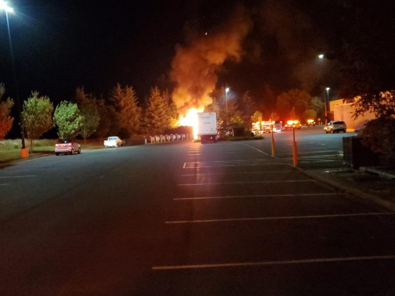 Del Norte Fire Crews Prevented Large Propane Explosions at Walmart