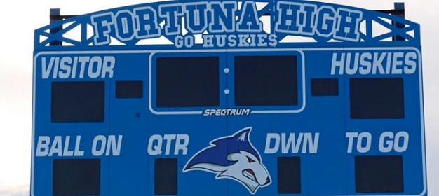 Fortuna High School Scoreboard
