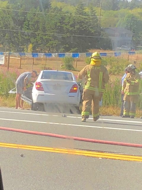 UPDATE 9 p m ] Fiery Crash on Hwy 199 This Evening – Redheaded Blackbelt
