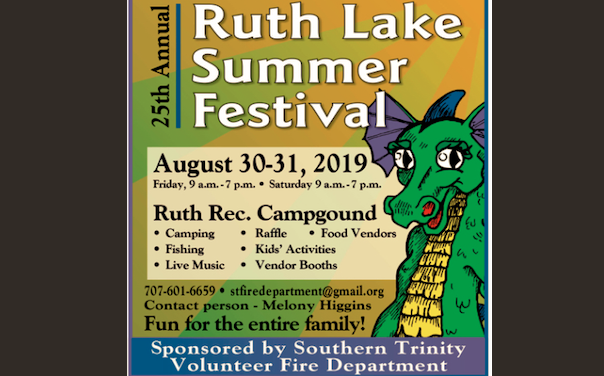 Room for More Volunteers at the Ruth Lake Summer Festival