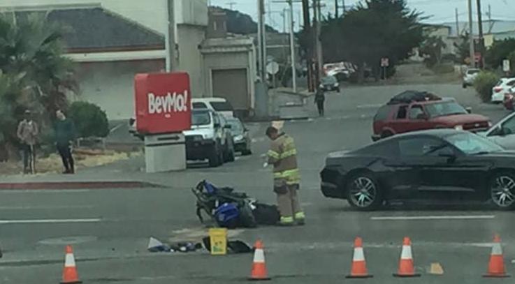 UPDATE 11:21 a m ] One Injured After Crash in Eureka