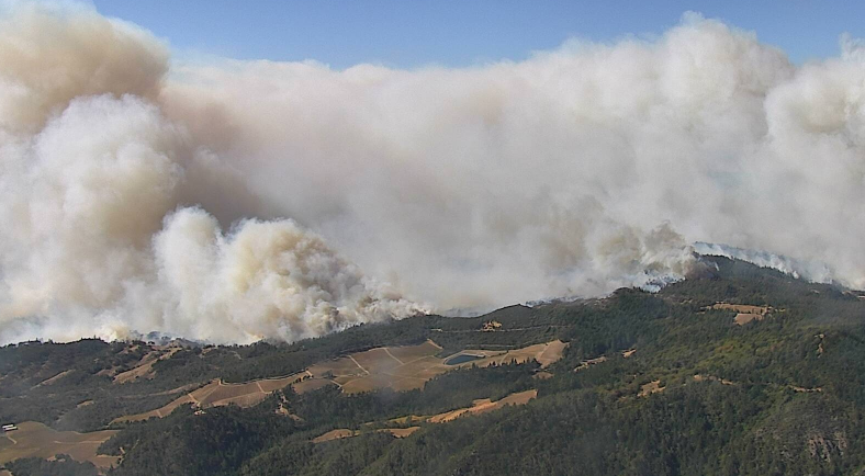 St Helena AlertWildfire cam at 12:03 p.m.