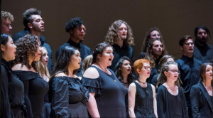 choir performing at humboldt state university