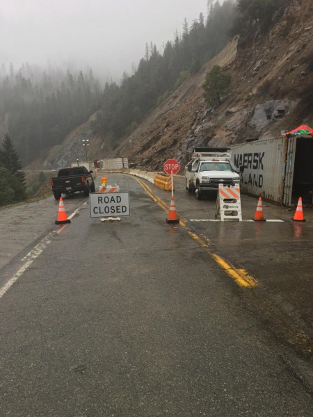 Hwy 96 is closed.