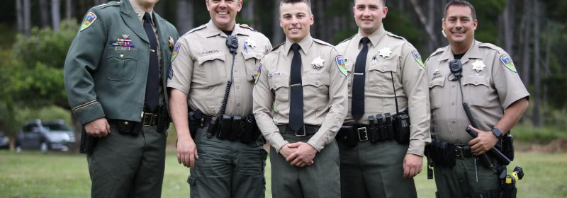 Officers with Humboldt County Sheriff's Department.