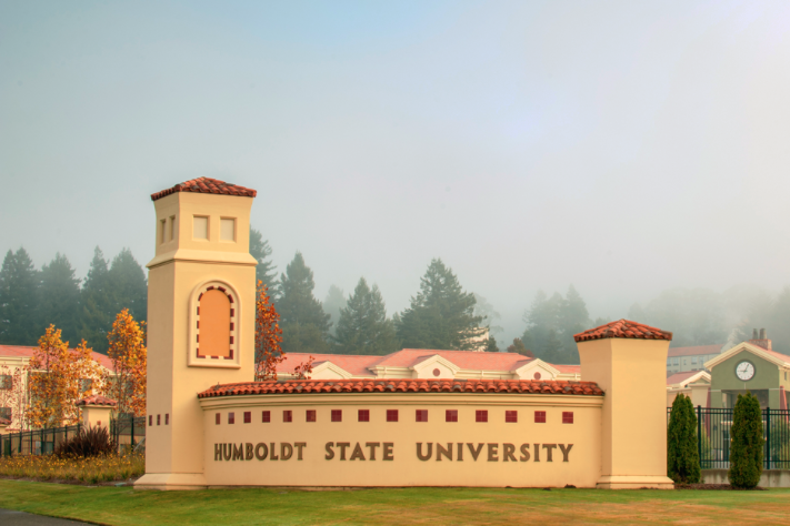 Gate to Humboldt State University