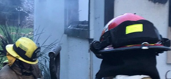 Arcata Fire District responded to a residential structure fire in Westhaven