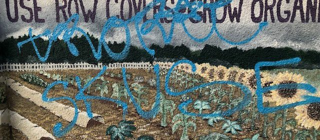 Graffiti [Image from the City of Arcata]