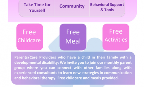 flyer for parenting group