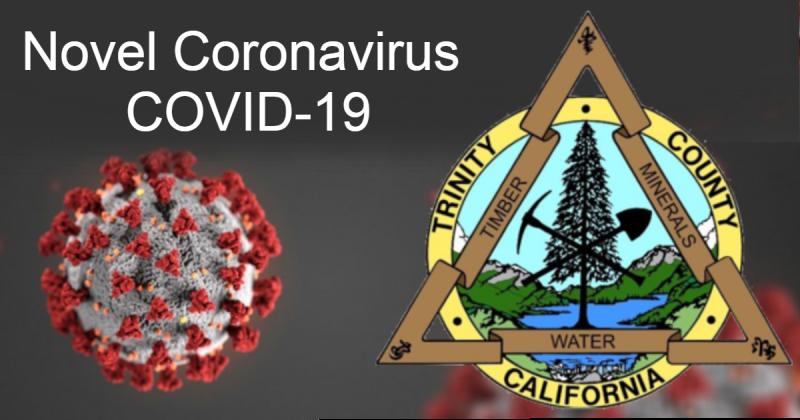 novel coronavirus Covid-19 Trinity County