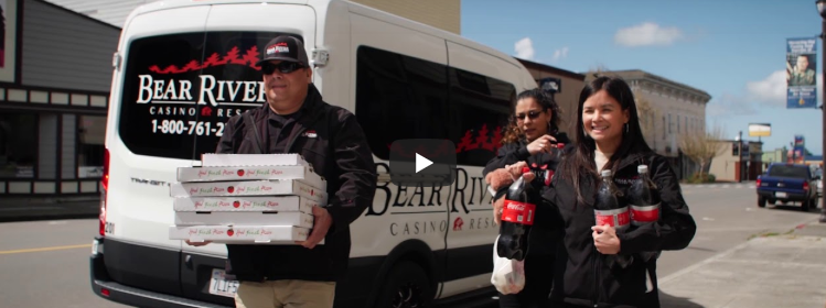 Bear River Casino Resort delivering pizza during COVID crisis