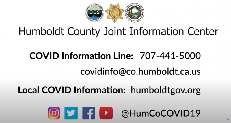 covid numbers in Humboldt