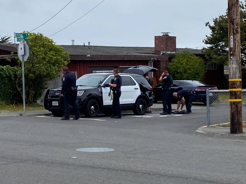 EPD at Armed suspect