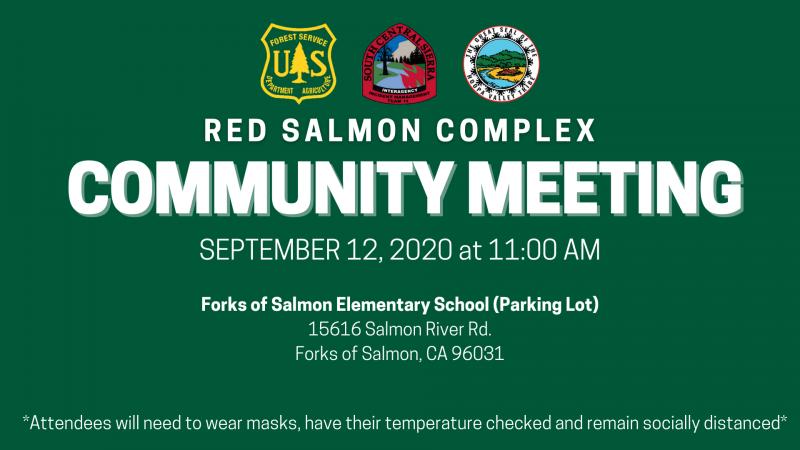 COMMUNITY MEETING - Red Salmon