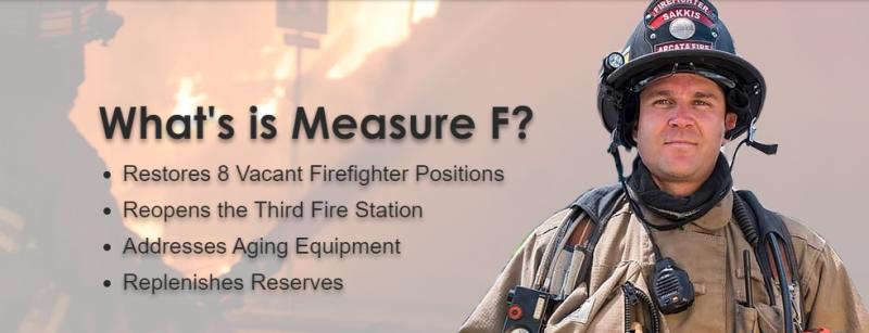 Measure F Arcata Fire