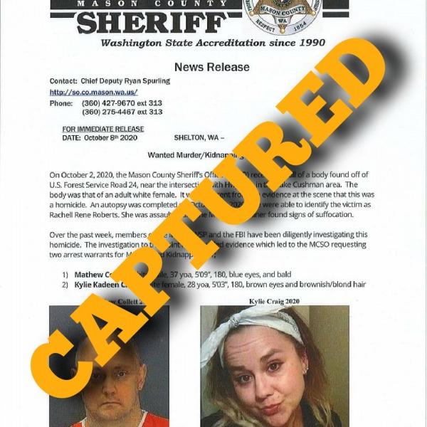 Mason County Washington press release