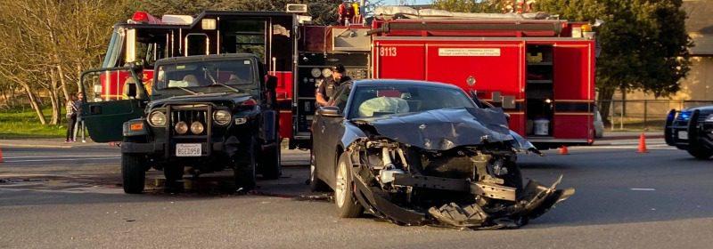 Crash at the Bayshore Mall