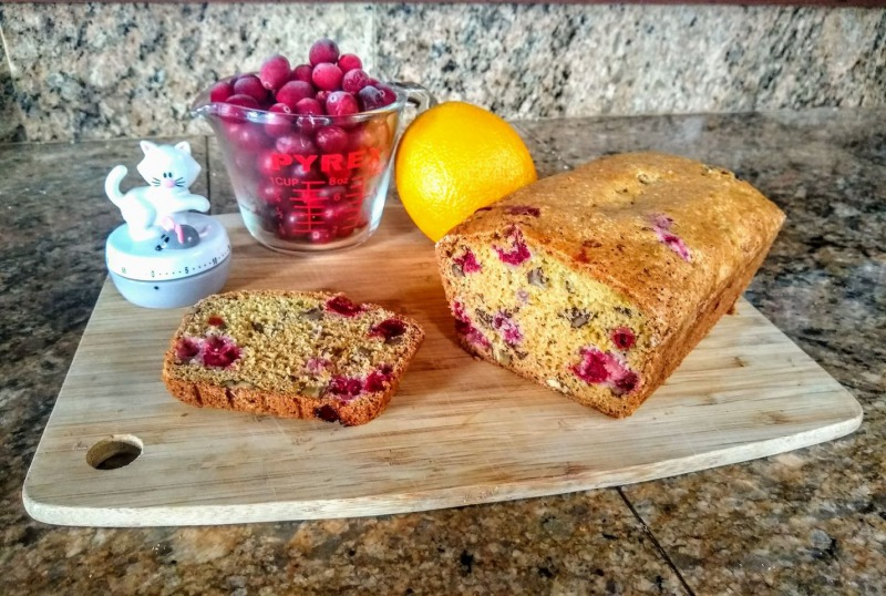 Cranberry bread by Tracy Shapiro