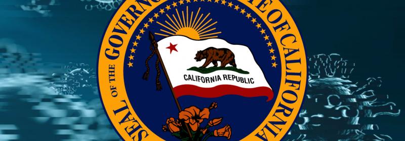 Governor California Covid Icon by Matt LaFever