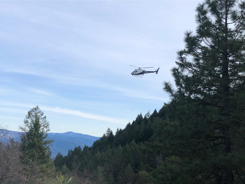Helocopter search and rescue