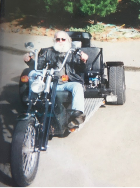 Thomas (Tom) D. McMahon motorcycle
