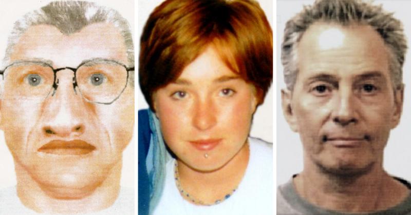 Sketch of person of interest in Karen Mitchell's disappearance, Karen Mitchell, Robert Durst.