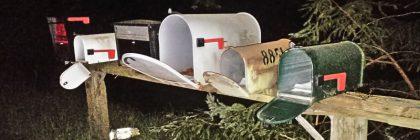 Mail boxes hcso